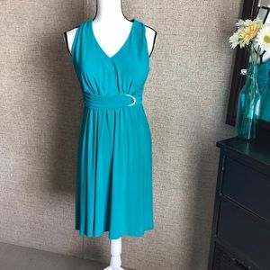 Jessica Howard teal/turquoise dress size 4p